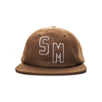 6 Panel Chocolate Wool