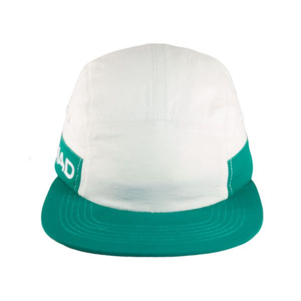 Gorra 7 paneles Essential Green White