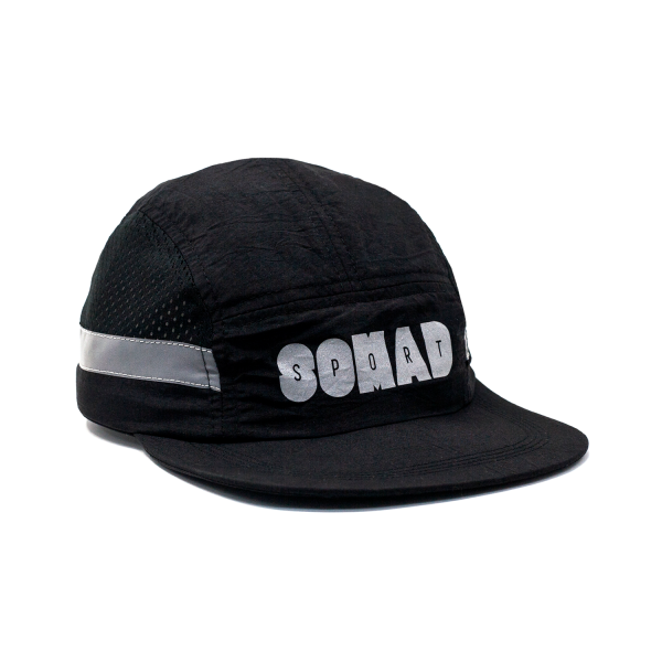 7 Panel So Mad Sport Hole Reflective Black
