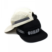 7 Panel So Mad Sport Hole Reflective Black and Cream