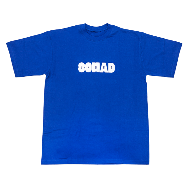 Camiseta So Mad Sport Hole Reflective Royal Blue