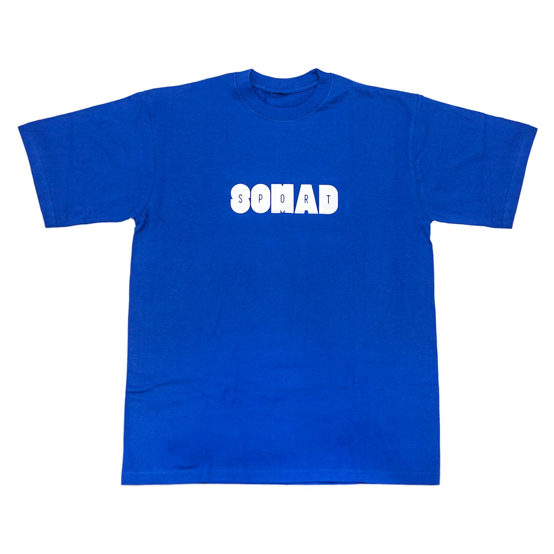 Camiseta So Mad Sport Hole Reflective Royal Blue