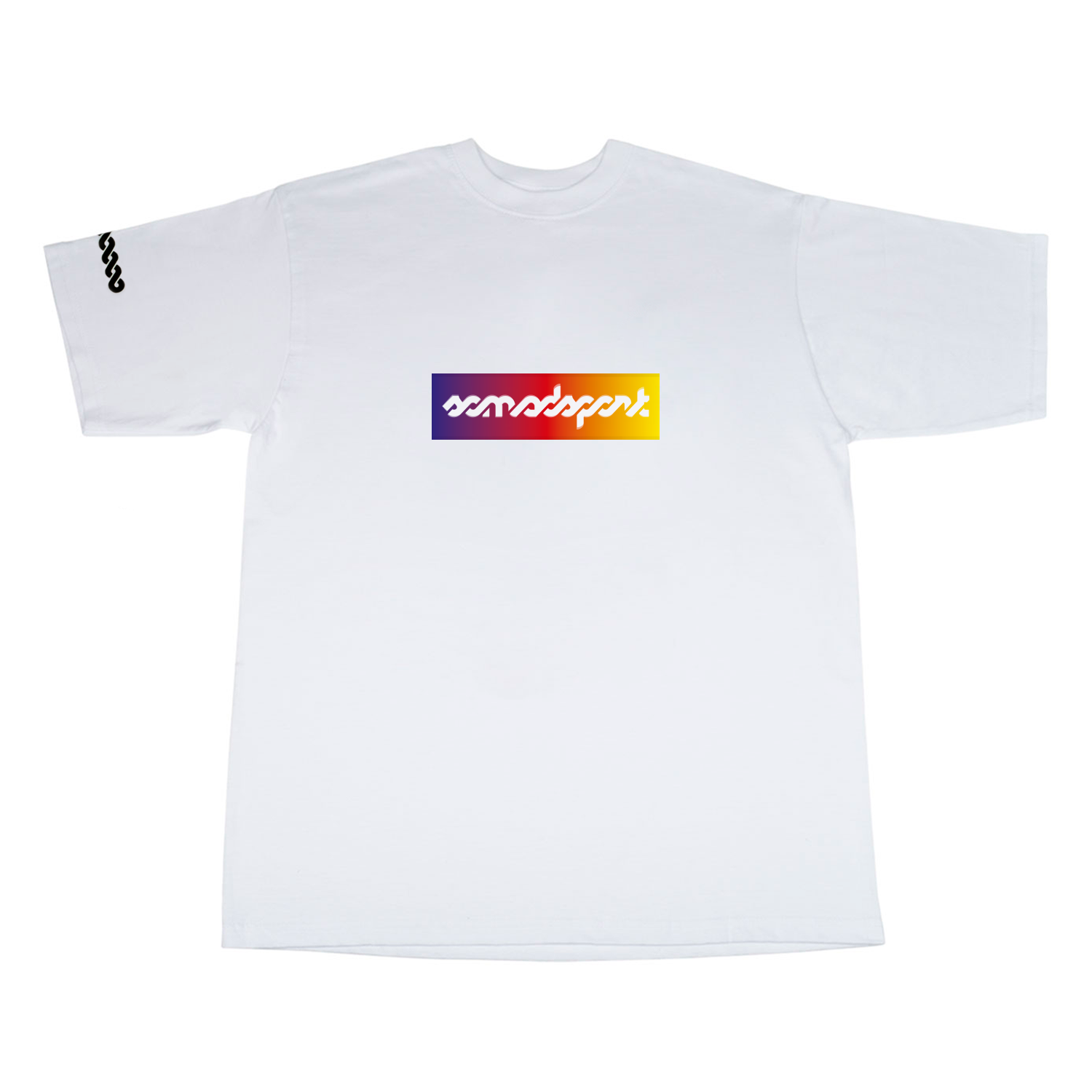 Camiseta So Mad Sport Interlaced White