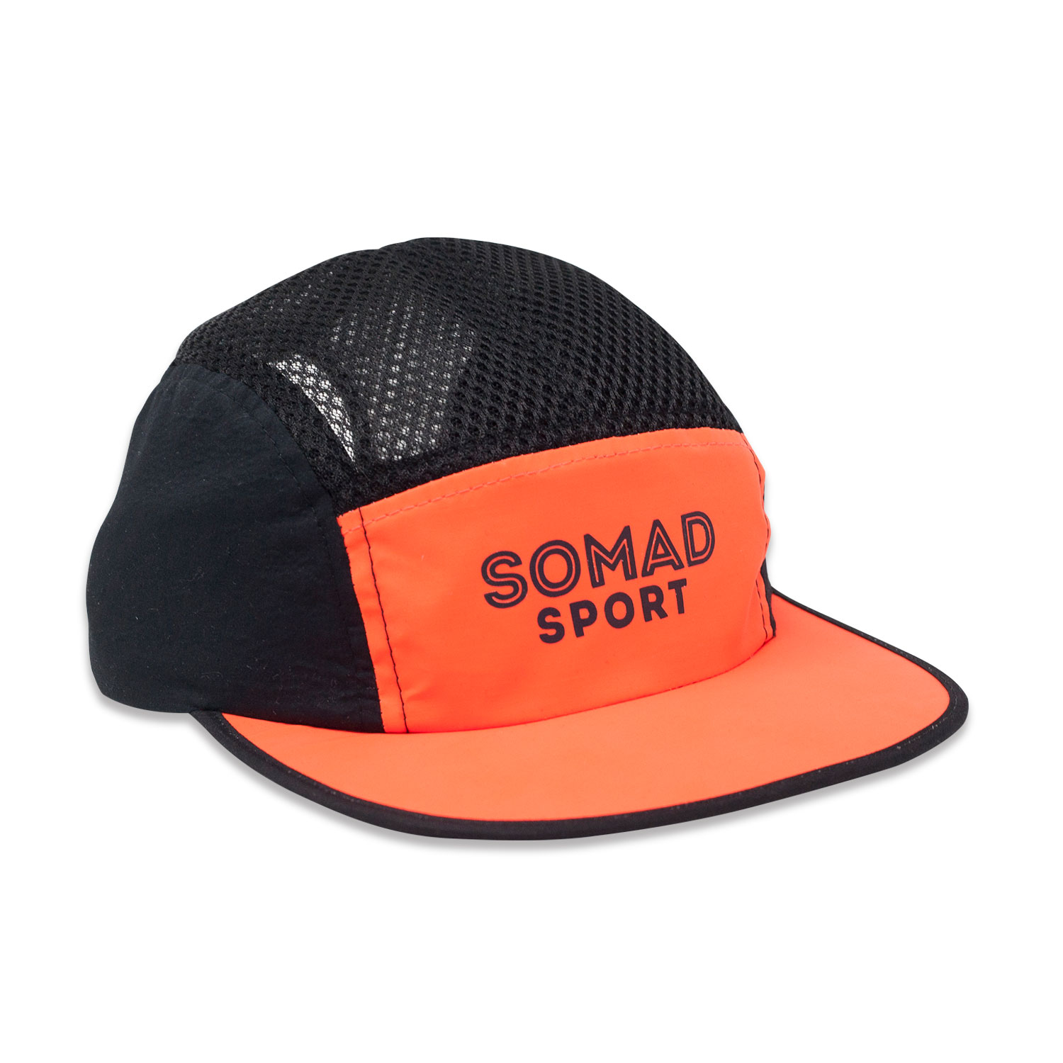 5 Panel So Mad Sport Fluor Orange Reflective Rainbow