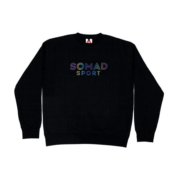 Sweatshirt So Mad Sport Reflective Rainbow