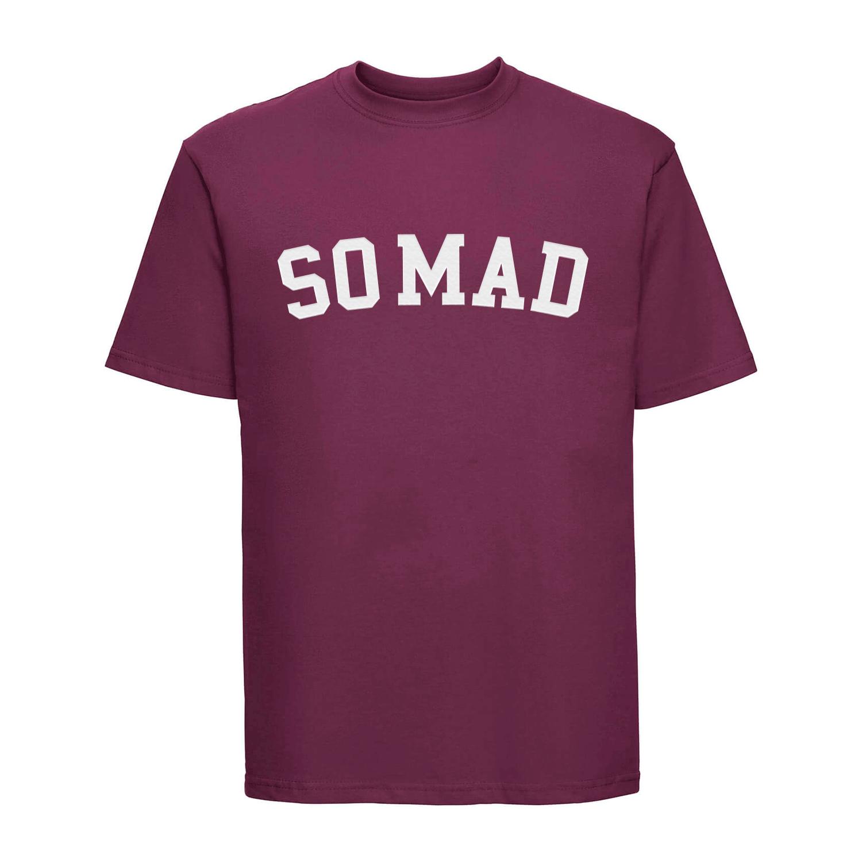 Camiseta University Burgundy
